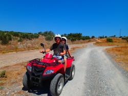 Quad excursie op Kreta