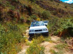 Jeep safari op vakantie op Kreta