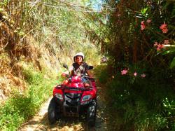 Quad excursie op Kreta vakanties