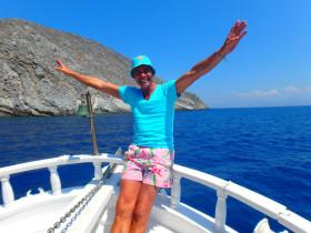 Boot varen op Kreta vakantie (5)