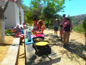 Koken op Kreta (1)