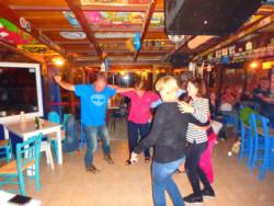 Bar feest op Kreta
