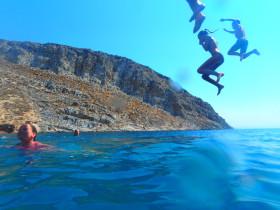 Boot varen op kreta vakantie fotoboek 2015 (102)