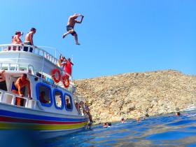 Boot varen op kreta vakantie fotoboek 2015 (18)