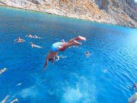 Boot varen op kreta vakantie fotoboek 2015 (21)