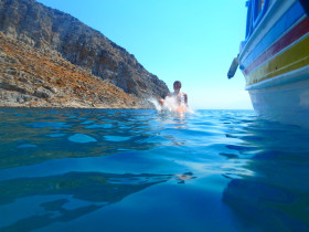 Boot varen op kreta vakantie fotoboek 2015 (35)