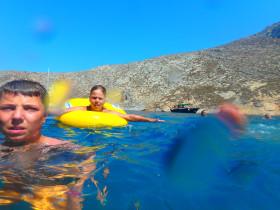 Boot varen op kreta vakantie fotoboek 2015 (38)