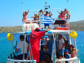 Boot varen op kreta vakantie fotoboek 2015 (4)