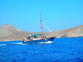 Boot varen op kreta vakantie fotoboek 2015 (45)