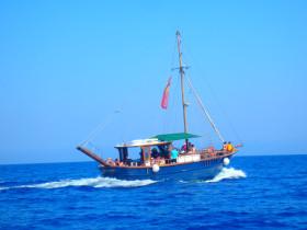 Boot varen op kreta vakantie fotoboek 2015 (46)