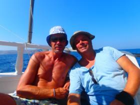 Boot varen op kreta vakantie fotoboek 2015 (48)