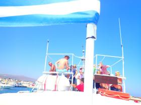Boot varen op kreta vakantie fotoboek 2015 (52)