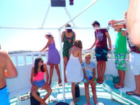 Boot varen op kreta vakantie fotoboek 2015 (54)