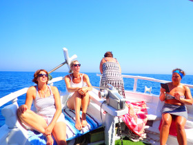 Boot varen op kreta vakantie fotoboek 2015 (57)