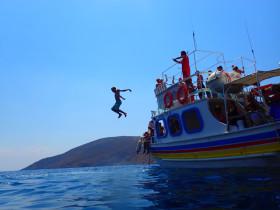 Boot varen op kreta vakantie fotoboek 2015 (7)