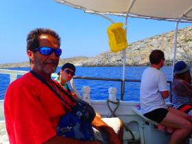 Boot varen op kreta vakantie fotoboek 2015 (84)