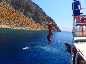 Boot varen op kreta vakantie fotoboek 2015 (88)