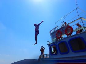 Boot varen op kreta vakantie fotoboek 2015 (9)
