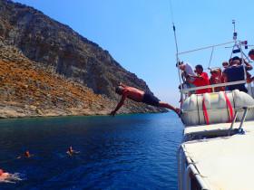 Boot varen op kreta vakantie fotoboek 2015 (90)