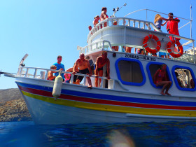 Boot varen op kreta vakantie fotoboek 2015 (92)