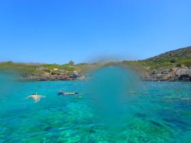 Snorekelen op vakantie op Kreta (101)