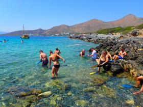 Snorekelen op vakantie op Kreta (102)