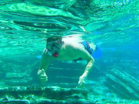 Snorekelen op vakantie op Kreta (110)