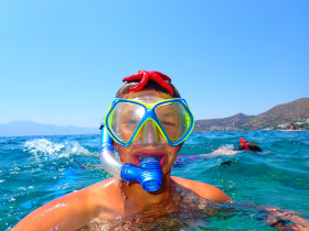 Snorekelen op vakantie op Kreta (20)
