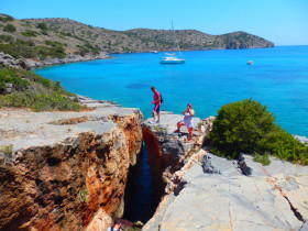 Snorekelen op vakantie op Kreta (37)