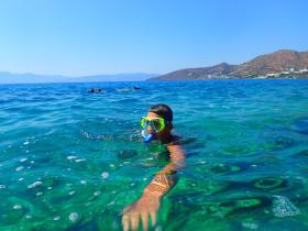 Snorekelen op vakantie op Kreta (84)