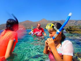 Snorekelen op vakantie op Kreta (87)