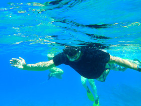 Snorekelen op vakantie op Kreta (90)