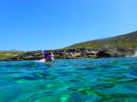 Snorekelen op vakantie op Kreta (96)