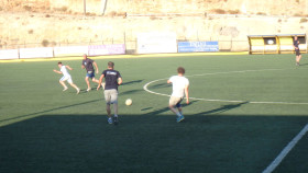 Voetbal op Kreta Griekenland Vakantie (15)