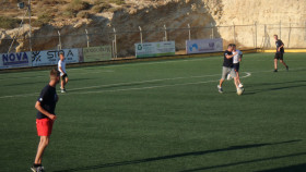 Voetbal op Kreta Griekenland Vakantie (21)