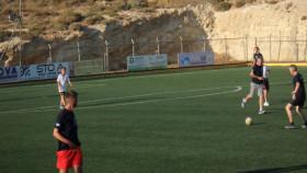 Voetbal op Kreta Griekenland Vakantie (22)