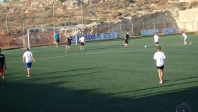 Voetbal op Kreta Griekenland Vakantie (31)