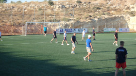 Voetbal op Kreta Griekenland Vakantie (41)